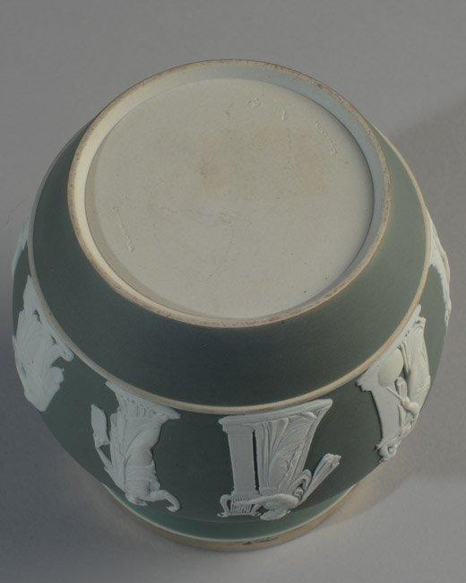 Wedgwood Jasperware Biscuit Jar - 4