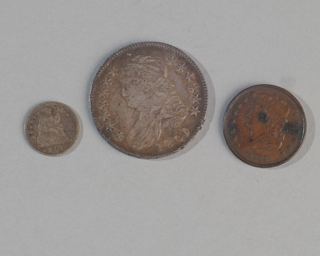 Three Early US Coins