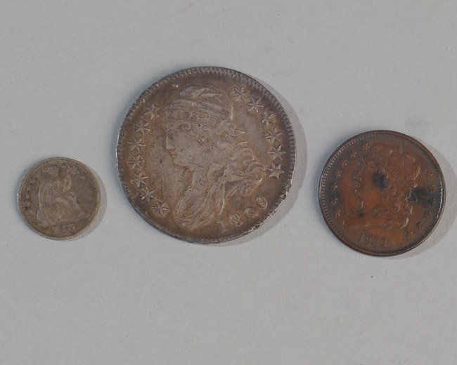 Three Early US Coins - 2