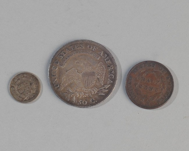 Three Early US Coins - 3