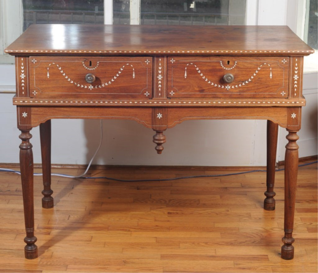 19th C. Anglo-Indian Serving Table