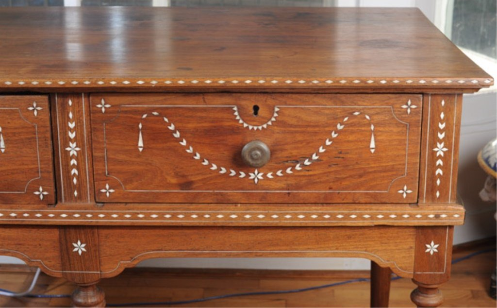 19th C. Anglo-Indian Serving Table - 4