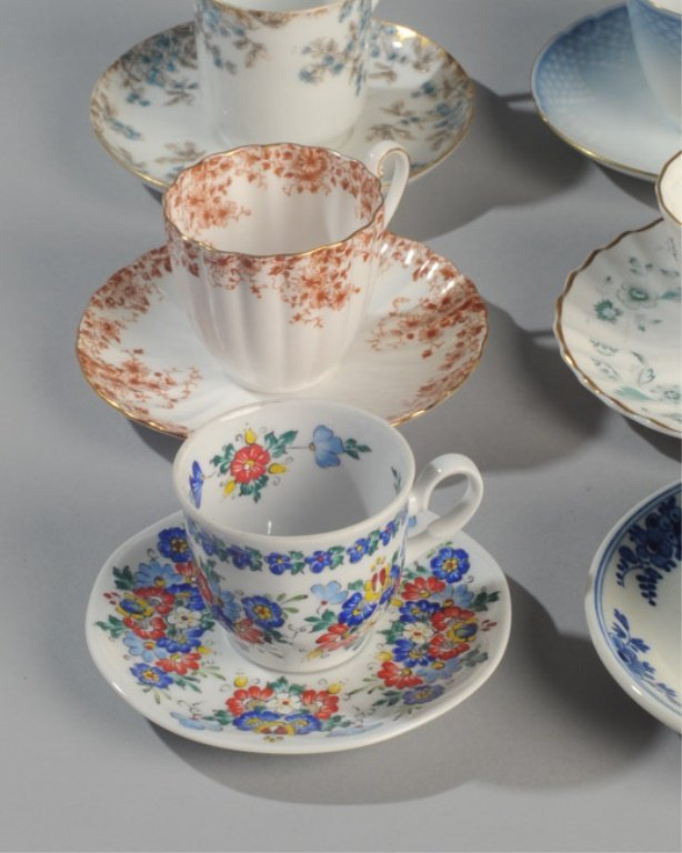Six Demitasse Cups and Saucers - 3