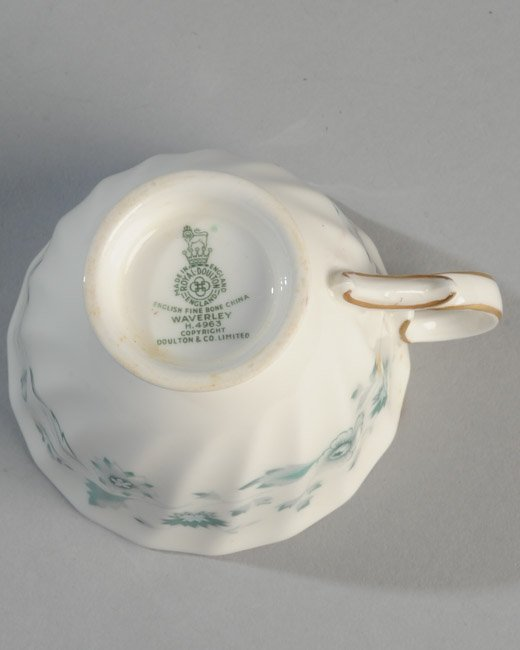 Six Demitasse Cups and Saucers - 5