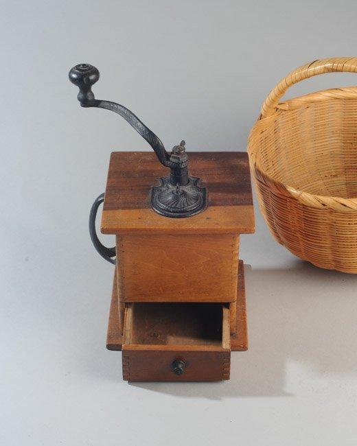 Wooden Coffee Grinder - 2