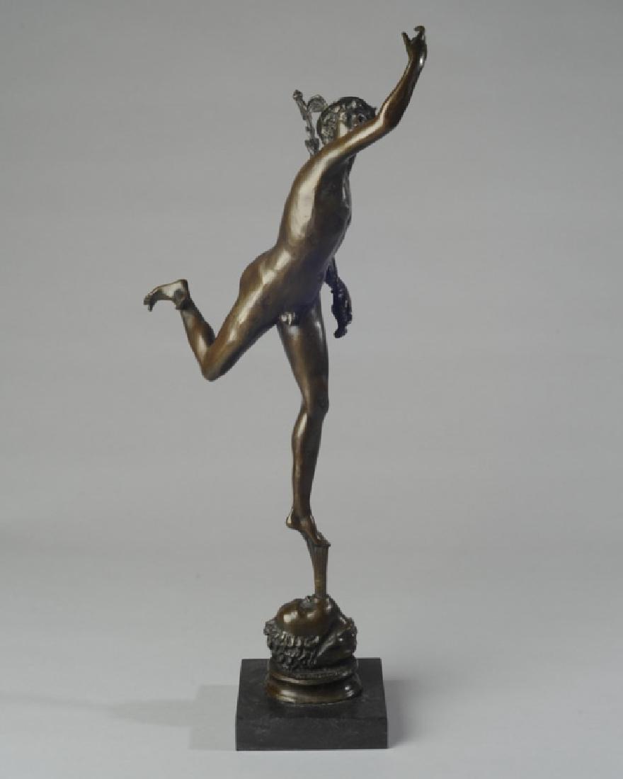 Giambologna (After) Bronze Statue of Mercury