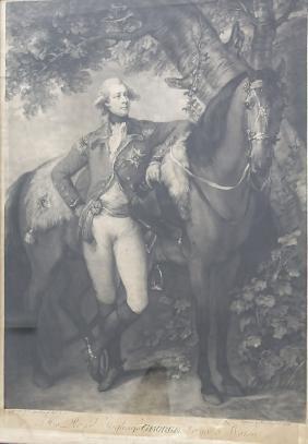 John Raphael Smith (1752-1812), 'George', 1783 Technik: