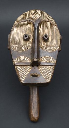 Hand- oder Gesichtsmaske / A hand or face mask, Tetela,