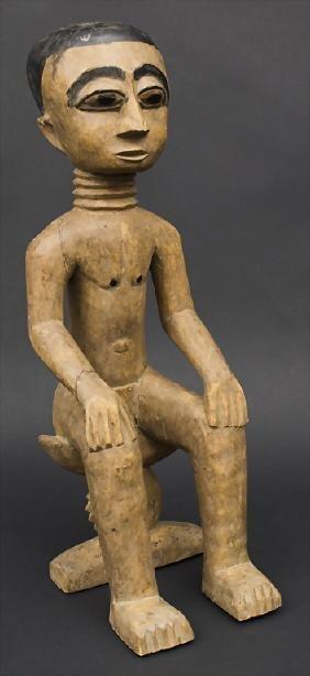 Ahnenfigur / An figure of an ancestor, Ashanti, Ghana