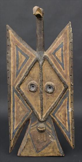Hornbillmaske / A mask, Tusyan, Burkina Faso Material: