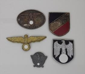 Konvolut Militaria, 3. Reich Material: 5