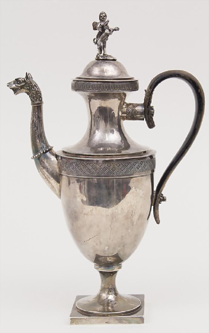Empire Kaffekanne / A coffee pot, Rom, um 1800