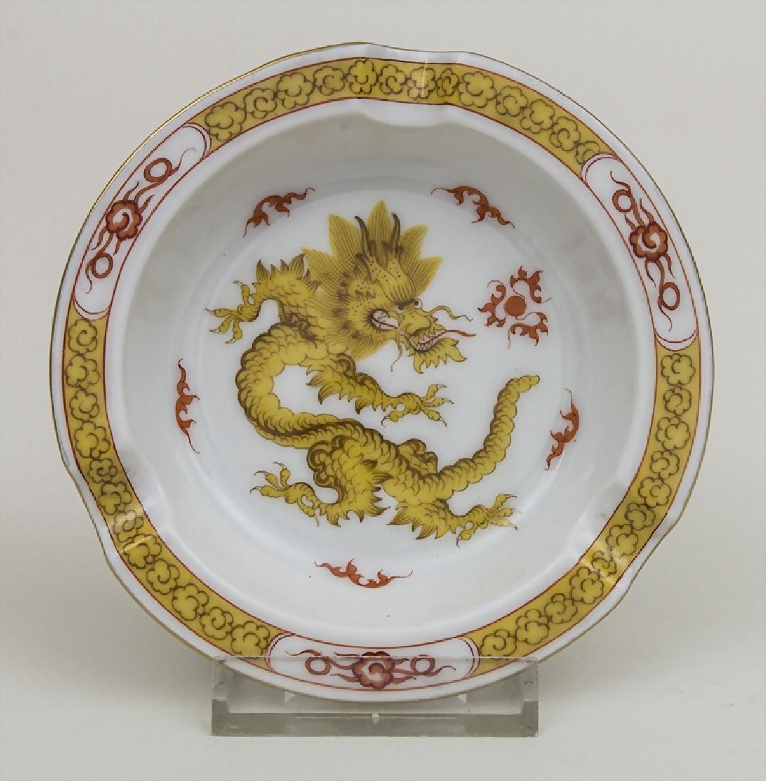 Aschenbecher 'Gelber Ming-Drache' / An ashtray 'Yellow