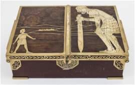 Schatulle 'David & Goliath' / A casket 'David &