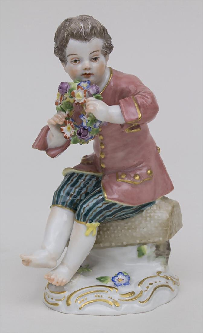 Gärtnerkind 'Knabe mit Blütenkranz' / A gardener child
