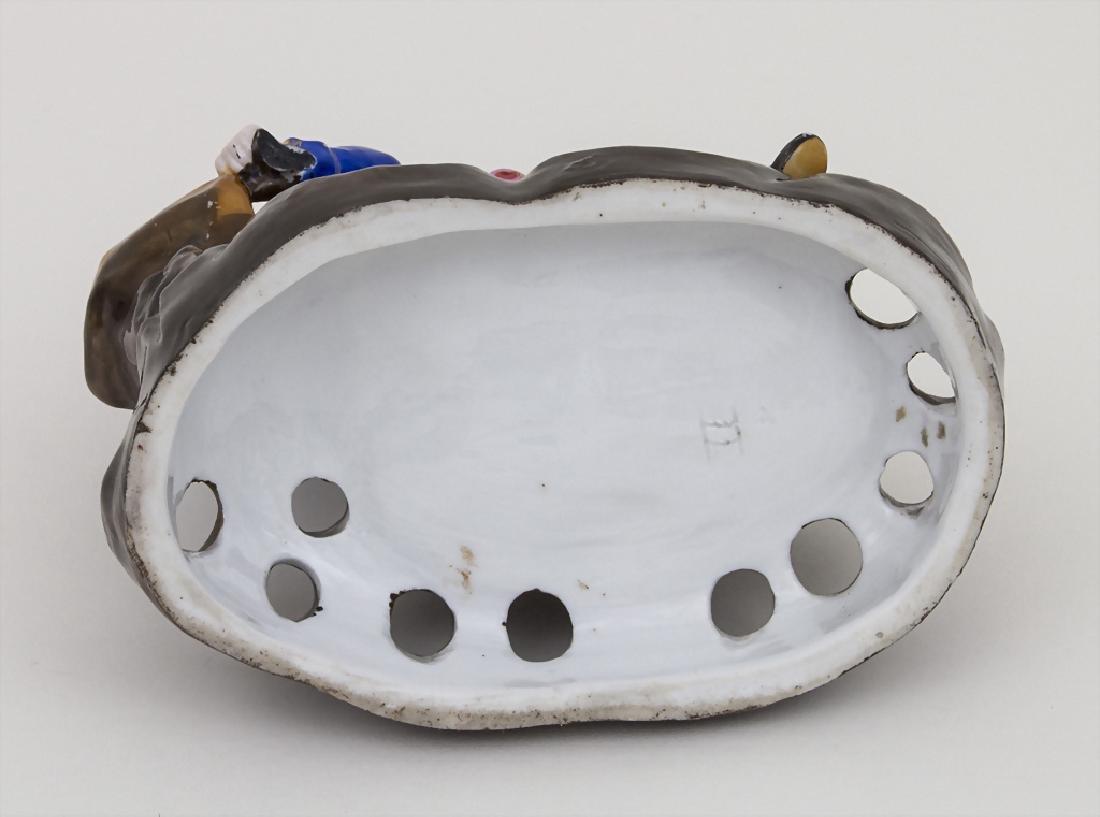 Figürlicher Pfeifenhalter / A figural pipe holder, wohl - 3