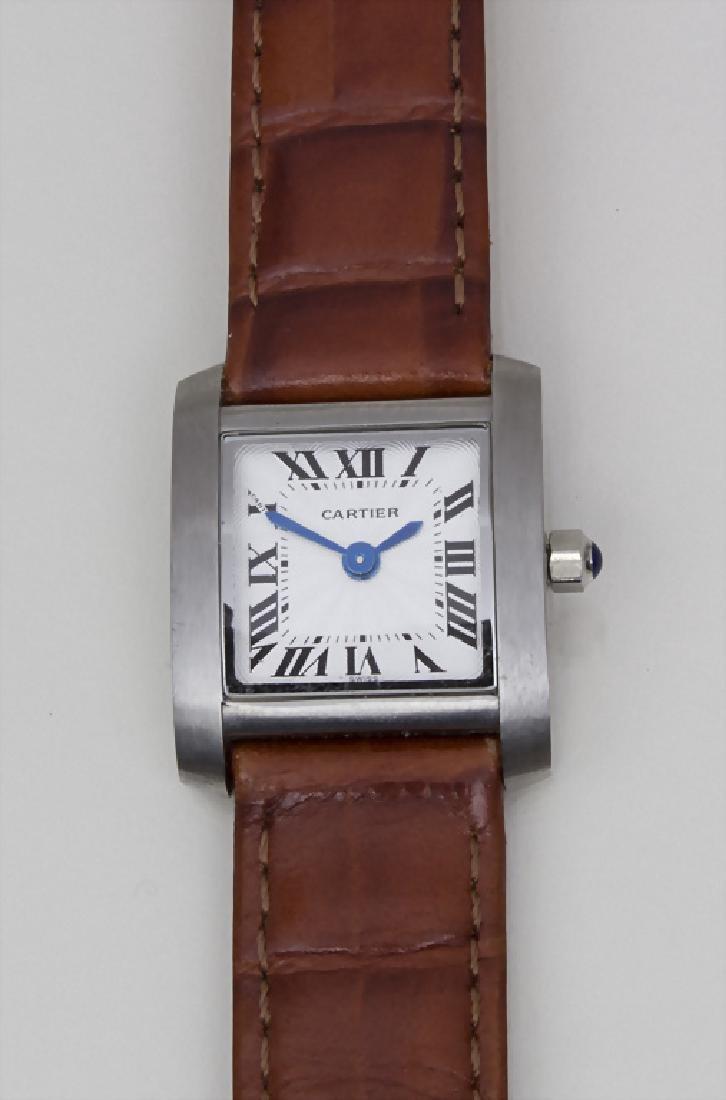Damenuhr Cartier / A ladies watch, Tank Francaise,