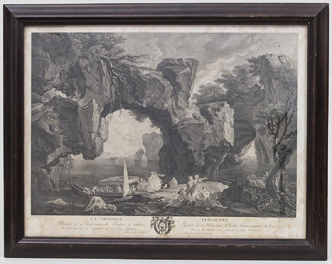 P.J. Duret (1729-?), 'La Gondole Italienne' Technik: