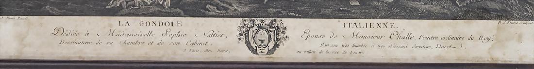 P.J. Duret (1729-?), 'La Gondole Italienne' Technik: - 2