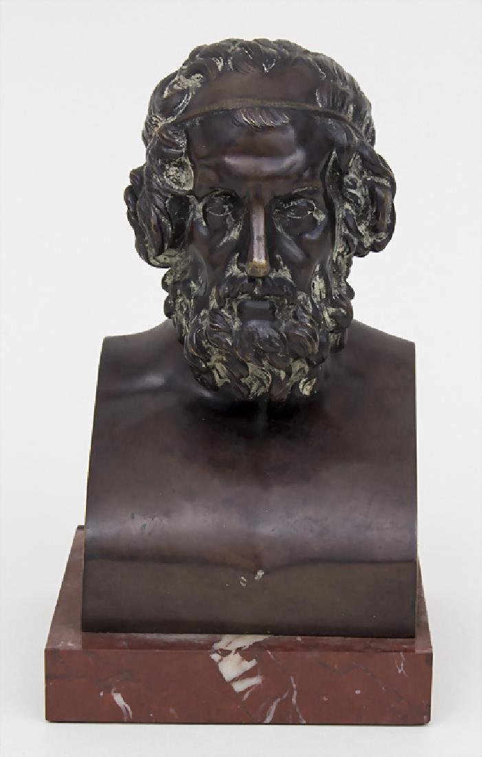 Bronzebüste 'Sokrates' / A bronze bust 'Sokrates'