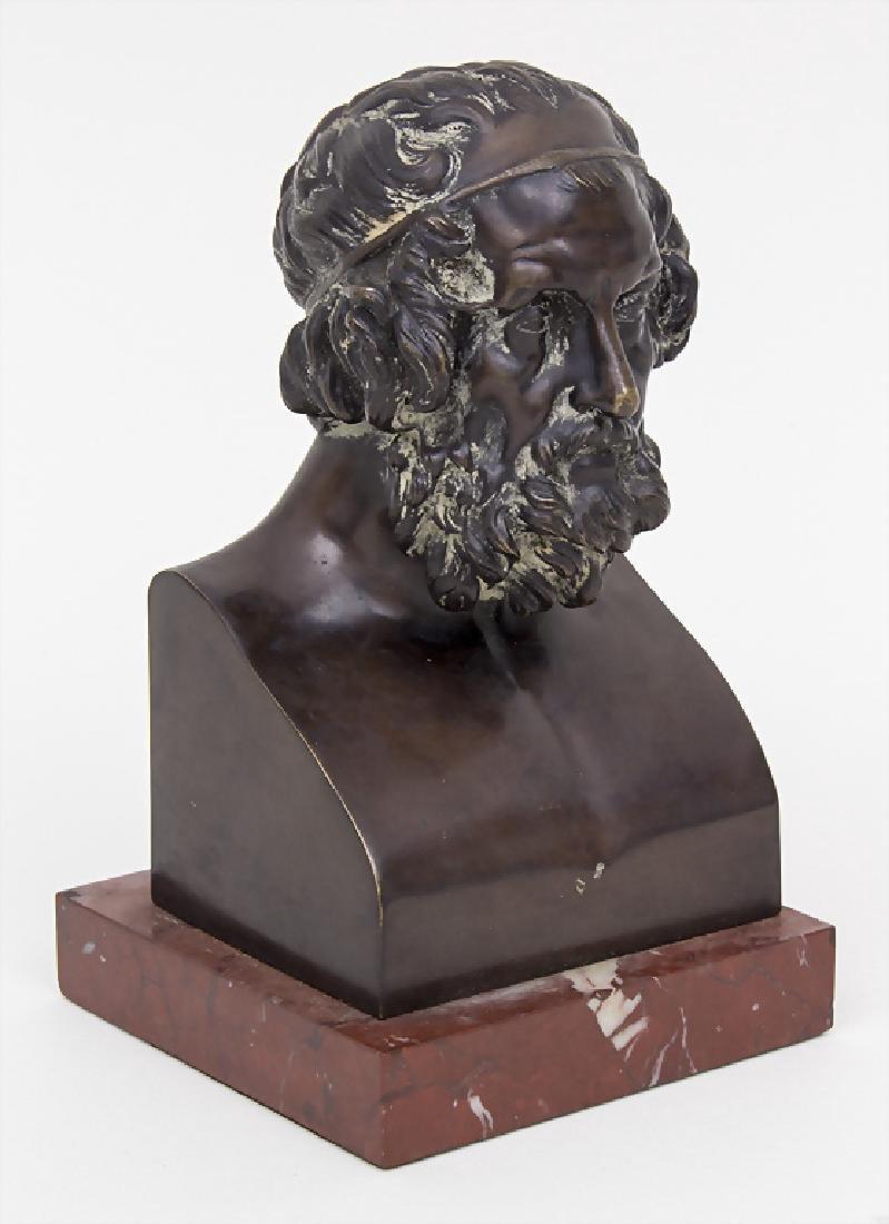 Bronzebüste 'Sokrates' / A bronze bust 'Sokrates' - 2
