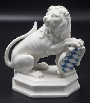 Bayerischer Löwe / The Bavarian lion, Nymphenburg,
