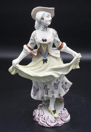 Tanzende Schäferin / A dancing shepherdess, Aelteste