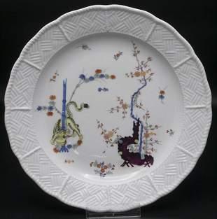 Teller 'Alter Gelber Reicher Löwe' / A plate 'Old Rich