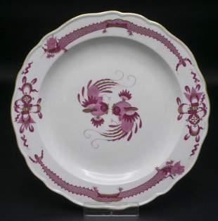 Teller 'Reicher Drache in Purpur' / A plate 'Rich