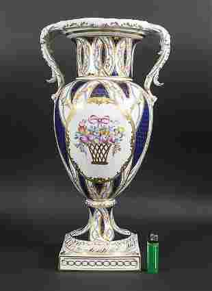 Amphorenvase / An amphora vase, Carl Thieme,