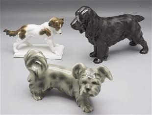 Konvolut 3 Hunde / A collection of 3 dogs, Steffl,