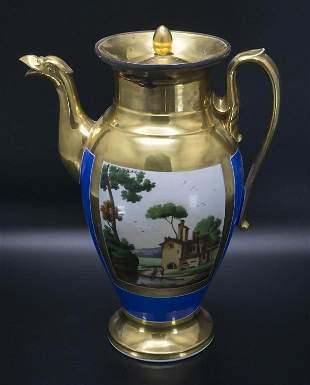 Biedermeierkanne / A Biedermeier pot, 19. Jh.