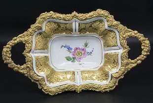 Prunkschale / A splendid bowl, Meissen, Pfeifferzeit,