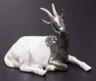 Jugendstil Tierfigur 'Ziegenbock' / An Art Nouveau