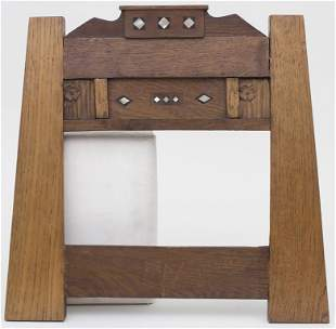 Jugendstil Bilderrahmen / An Art Nouveau picture frame,