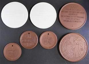 Konvolut Meissen Medaillen / A set of Meissen medals