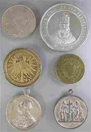 Konvolut Medaillen / 6 medals  bestehend aus:  1.