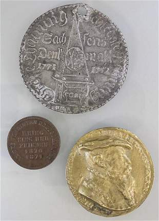 Konvolut: Drei Deutsche Medaillen / 3 German medals