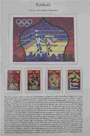 Themensammlung 'Blick in die Welt', um 1980 mit Marken