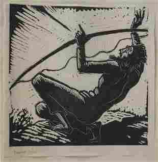 Daniel Greiner (1872-1943) 'Unter Druck!' & 'Rabbi mit
