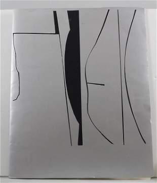 Mappe mit vier Radierungen von Carl-Heinz Kliemann