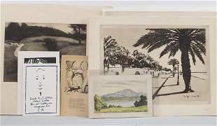 Konvolut aus 15 Druckgrafiken / A convolute of 15