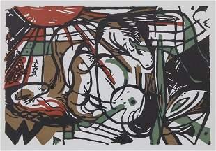 Franz Marc (1880-1916), 'Geburt der Pferde' / 'Birth of