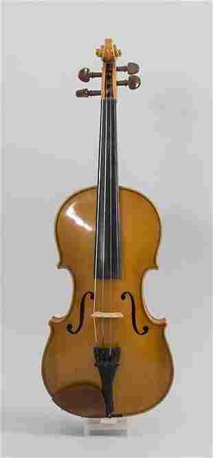 Violine / A violin, deutsch, um 1950  Geige: 3/4 Größe,