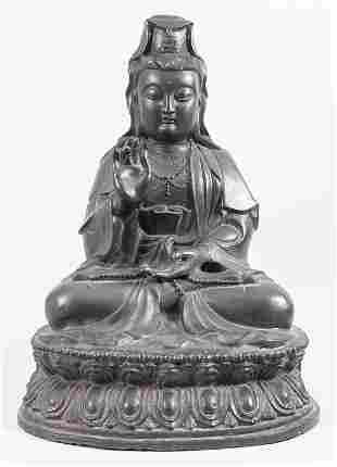 Großer Buddha 'Guanyin', China / Tibet, 16.-18. Jh.