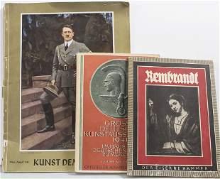 Konvolut Bücher: Kunst im Dritten Reich / A set of