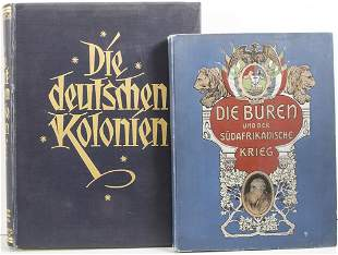 Konvolut Bücher: Kolonialismus / A set of books: