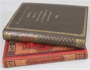 Konvolut Bücher: Kaiser Wilhelm / A set of books:
