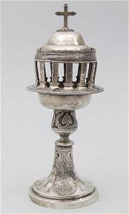 Weihrauchbrenner / A silver incense burner, Valentin
