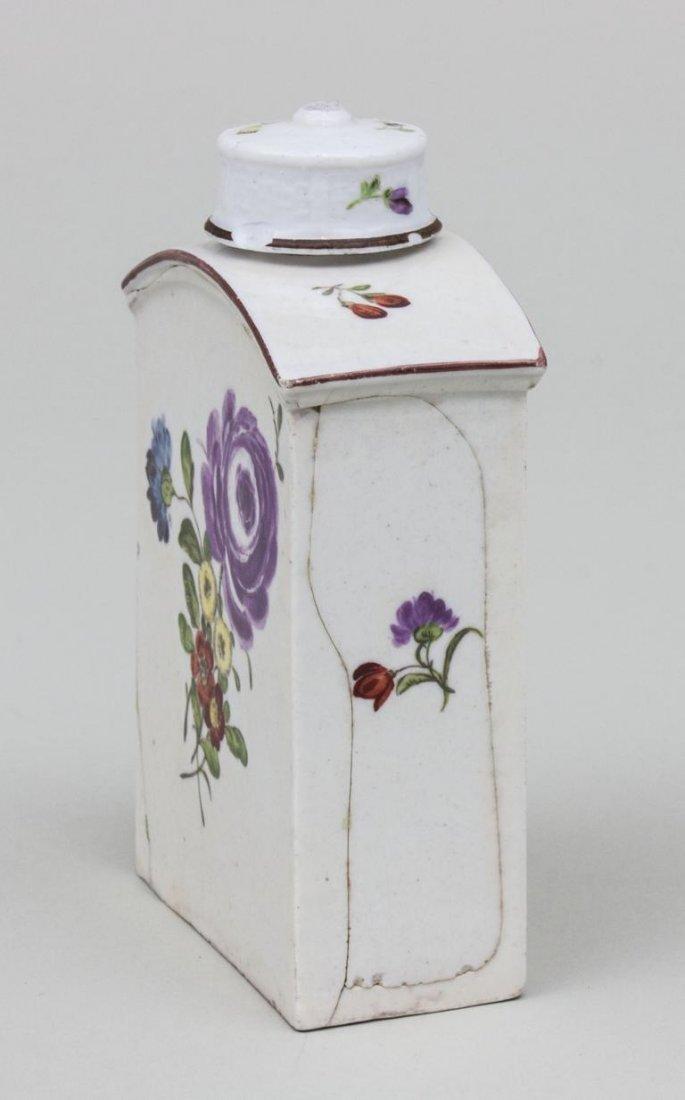 Teedose/ Porcelain Tea Box, wohl deutsch, 2. Hälfte 18. - 3
